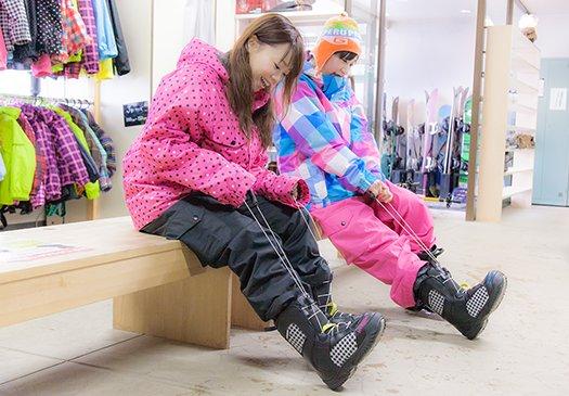 イメージ:スキー・スノーボード用品レンタル